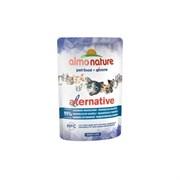 "Almo Nature Alternative - Паучи для кошек ""Индонезийская макрель"", 91% мяса Alternative Indonesian Mackerel"