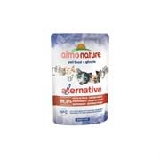 "Almo Nature Alternative - Паучи для кошек ""Куриная Грудка"", 99,5% мяса Alternative Chicken Breast"
