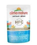 Almo Nature - Паучи для кастрированных котов и кошек (с полосатым тунцом) Classic Light Skipjack Tuna
