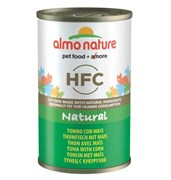 Almo Nature - Консервы для кошек (с Тунцом и кукурузой) Classic Tuna with Sweet Corn