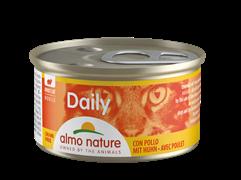 """Almo Nature - Консервы нежный мусс для кошек """"Меню с Курицей"""" Daily Menu Chicken mousse"""