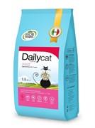 Dailycat - Беззерновой сухой корм для взрослых стерилизованных кошек (со свининой) Grain Free Adult Steri lite
