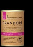 Grandorf - Консервы для взрослых собак (буйвол с индейкой)