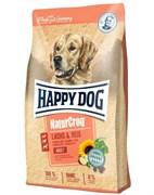 Happy Dog - Сухой корм для взрослых собак (с лососем и рисом) NaturCroq