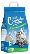 """Чистые Лапки - Наполнитель комкующийся для кошек """"Счастливые лапки"""""""
