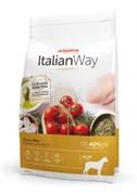 Italian Way - Сухой корм безглютеновый для взрослых собак крупных пород (с курицей и рисом) Maxi Chicken/Rice