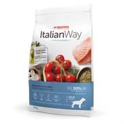 Italian Way - Сухой корм безглютеновый для взрослых собак средних пород с чувствительной кожей (лосось и сельдь) Medium Hypoallergenic Salmon/Herrings