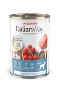 Italian Way - Консервы безглютеновые для собак всех пород с чувствительной кожей (с лососем,томатами и рисом) Hypoallergenic Salmon