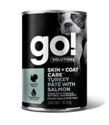 GO! Natural Holistic - Консервы беззерновые для собак всех возрастов (с индейкой и лососем) Skin + Coat Turkey Pate with Salmon DF