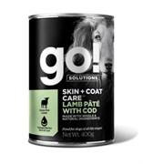 GO! Natural Holistic - Консервы беззерновые для собак всех возрастов (с ягненком и треской) Skin + Coat Lamb Pate with Cod DF