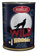 Berkley - Консервы для собак (с гусем, цуккини, яблоками и лесными ягодами)