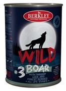 Berkley - Консервы для собак (с кабаном, пастернаком, сладким луком и лесными ягодами)