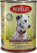 Berkley - Консервы для собак (с кроликом и овсянкой) Adult Rabbit&Oatflakes