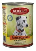 Berkley - Консервы для собак (с ягненком и морковью)