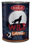 Berkley - Консервы для собак (с ягненком, тыквой, шпинатом и лесными ягодами)