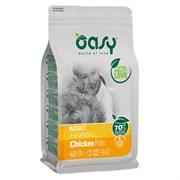 OASY - Сухой корм для взрослых кошек для выведения шерсти (с курицей) Dry Cat Adult Hairball