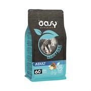 OASY - Сухой корм беззерновой для взрослых кошек (с рыбой) Dry Cat Grain Free Adult Fish