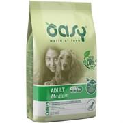 OASY - Сухой корм для взрослых собак средних пород (с курицей) Dry Dog Adult Medium Chicken