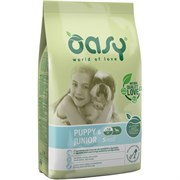 OASY - Сухой корм для щенков мелких пород (с курицей) Dry Dog Puppy & Junior Small