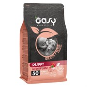 OASY - Сухой корм беззерновой для щенков средних пород (с индейкой) Dry Dog Grain Free Puppy Medium Turkey