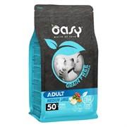 OASY - Сухой корм беззерновой для взрослых собак средних пород (с рыбой) Dry Dog Grain Free Adult Medium Fish