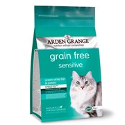Arden Grange - Сухой беззерновой корм для взрослых кошек с деликатным желудком и/или чувствительной кожей Adult Cat Sensitive