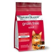 Arden Grange - Сухой беззерновой корм для взрослых кошек (с курицей и картофелем) Adult Cat Chicken & Potato