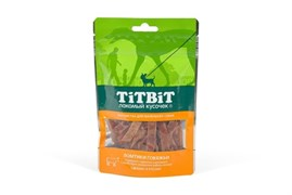 TiTBiT - Лакомство для собак (говяжьи ломтики)