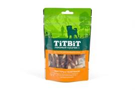 TiTBiT - Лакомство для собак (твистеры с телятиной)