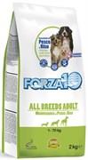 Forza10 - Сухой корм для взрослых собак всех пород (с рыбой и рисом) All Breeds Adult Maintenance 25/13