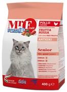 Forza10 - Сухой корм для пожилых кошек (с курицей и красными фруктами) Mr. Fruit Senior