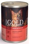 Nero Gold Super Premium - Консервы для кошек (свежая оленина) Cat Adult Venison