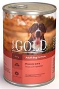 Nero Gold Super Premium - Консервы для собак (мясное рагу) Dog Adult Meat & Vegetables