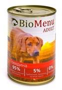 BioMenu - Консервы для собак (с говядиной) ADULT