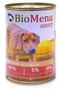 BioMenu - Консервы для собак (мясное ассорти)