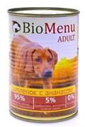 BioMenu - Консервы для собак (цыпленок с ананасом)