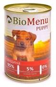 BioMenu - Консервы для щенков (с говядиной) PUPPY