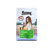 Karmy - Сухой корм для взрослых стерилизованных кошек (с курицей) ADULT CAT STERILIZED