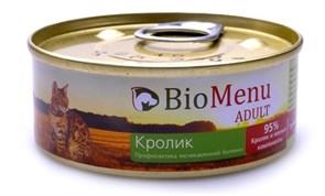BioMenu - Паштет для кошек (с кроликом)
