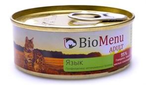 BioMenu - Паштет для кошек (с языком)