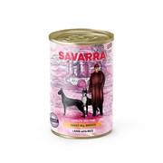 SAVARRA -  Консервированный корм для собак (ягненок c рисом) Adult Dog
