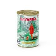 SAVARRA - Консервированный корм для собак (утка с рисом) Adult Dog