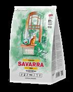 SAVARRA - Сухой корм для стерилизованных кошек (утка с рисом) Adult Cat