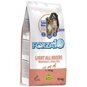 Forza10 - Сухой корм для взрослых собак всех пород склонных к полноте (с тунцом и рисом) Maintenance Light 24/8