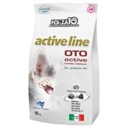 Forza10 - Сухой корм для взрослых собак всех пород при заболеваниях слуховых органов (с рыбой) Oto Active