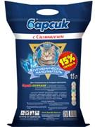 Барсик - Наполнитель для кошек впитывающий с силикагелем