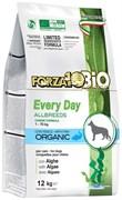Forza10 - Сухой корм для взрослых собак всех пород (с рыбой и водорослями) EveryDayBio
