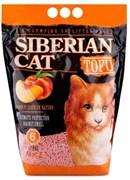 Сибирская кошка - Комкующийся наполнитель для кошек Тофу (персик)