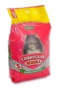 """Сибирская кошка - Впитывающий наполнитель для кошек """"Комфорт"""""""