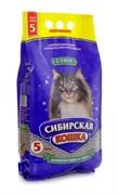 """Сибирская кошка - Комкующийся наполнитель для кошек """"Супер"""""""